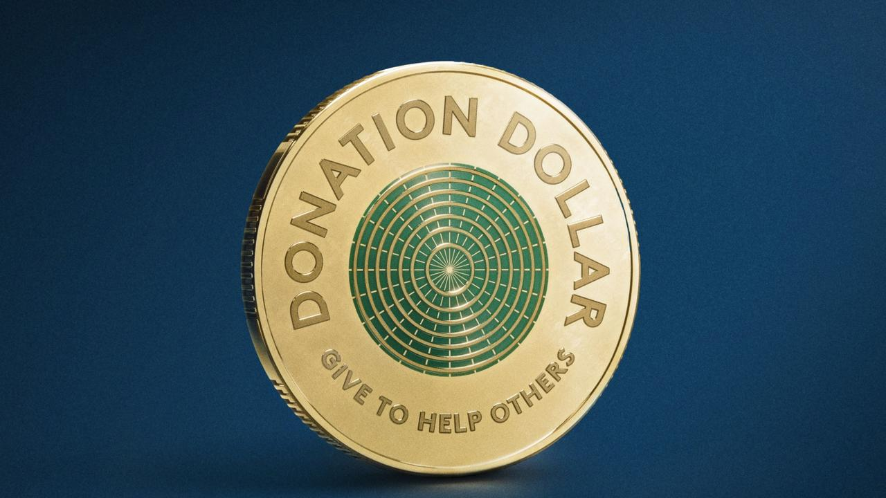 The Donation Dollar is designed to be donated to a charity of your choice. Picture: Handout via NCA NewsWire