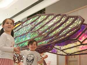 Why Mini Beasts are lighting up city shopping centre