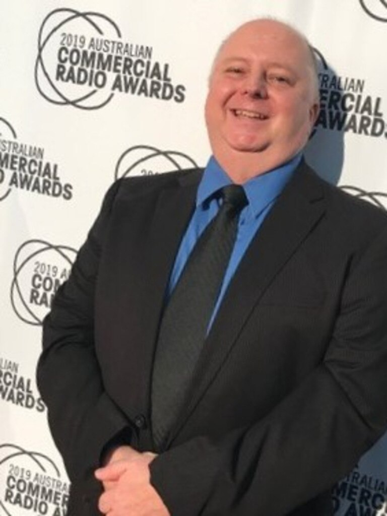 Retiring from broadcast after three decades, Tweed's Radio 97 breakfast show announcer Scott Mayman is pictured at the ACRA 2019 Radio Awards.