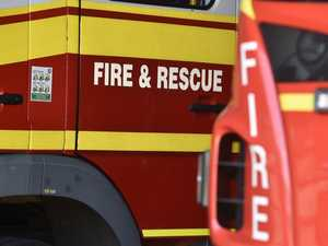 Emergency crews race to car fire in Emerald