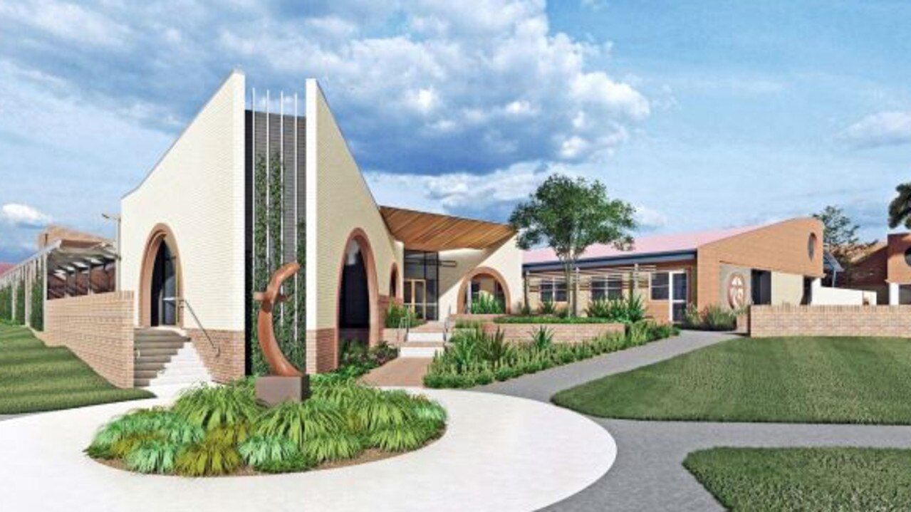 Student wellbeing is at the forefront of a Siena Catholic College as it proposes an extension to buildings for a student wellbeing centre that will include parent and student receptions, a sick bay, counselling rooms, meeting rooms and student reflection spaces. Photo: Architectural Collaborative
