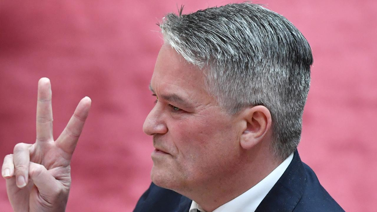 Finance Minister Senator Mathias Cormann says Australia's economy is doing better than many countries. Picture: Getty Images