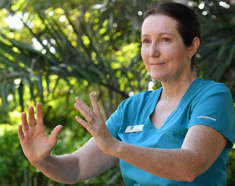 Leanne Simpson is offering free Tai Chi to Mackay residents thanks to Mackay Regional Council. Picture: Tony Martin