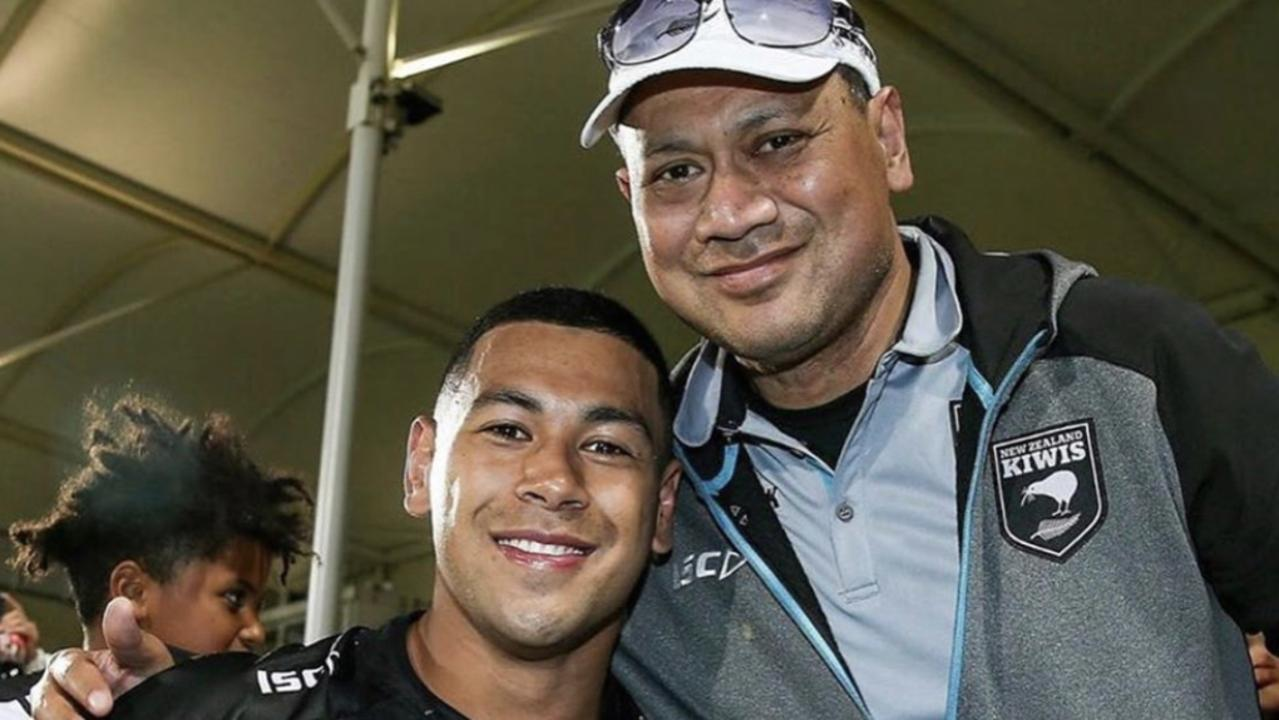 The pain of attending his dad's funeral will be compounded for Jamayne Isaako, with the Brisbane Broncos star to spend Father's Day in lockdown.
