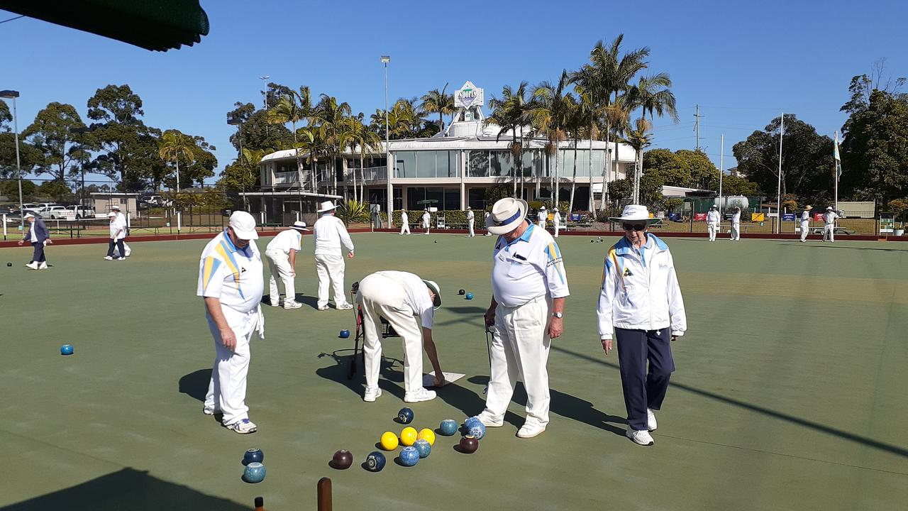 LISMORE WORKERS: Players enjoyed the gorgeous winter weather and the friendly competition on the rinks.
