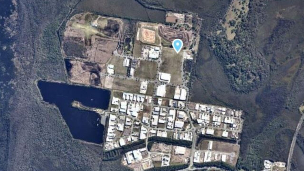 The proposed development site is located within the emerging Coolum Industrial Estate. Picture: Supplied
