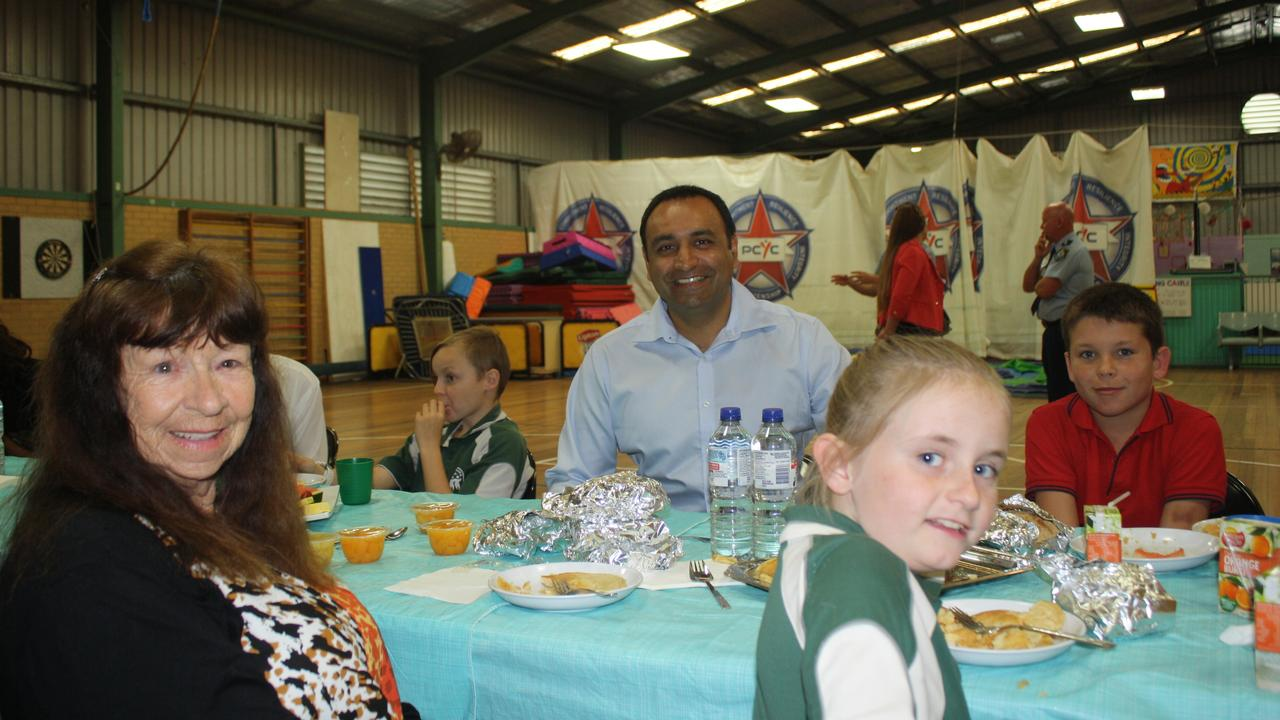 Gurmesh Singh sits down for breakfast as part of the Youth Active Rewards Program.