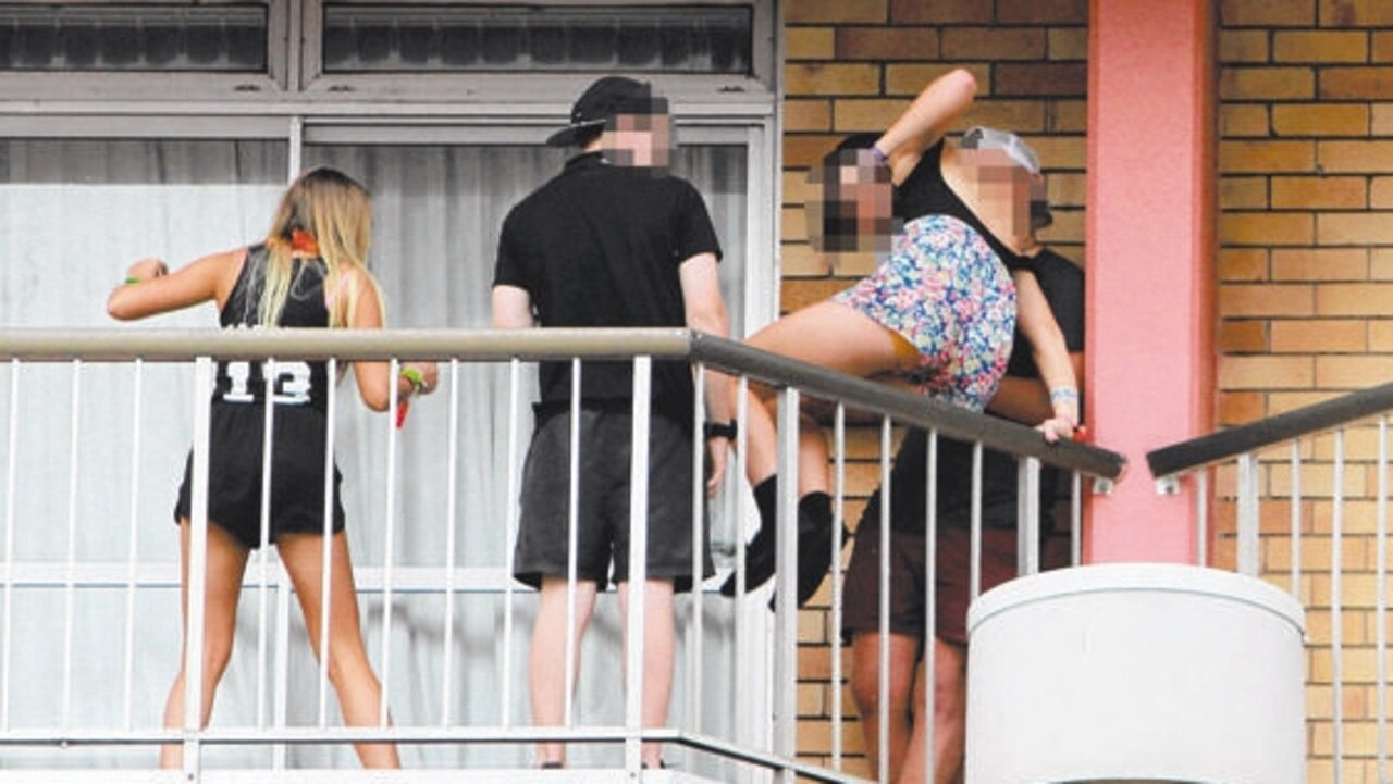 Schoolies last year. Fair Trade said there are ways Queensland students can get refunds if needed.