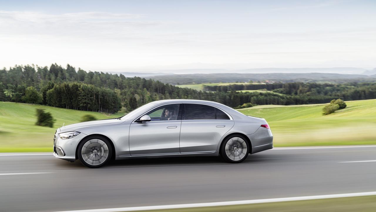 2021 Mercedes-Benz S-Class.