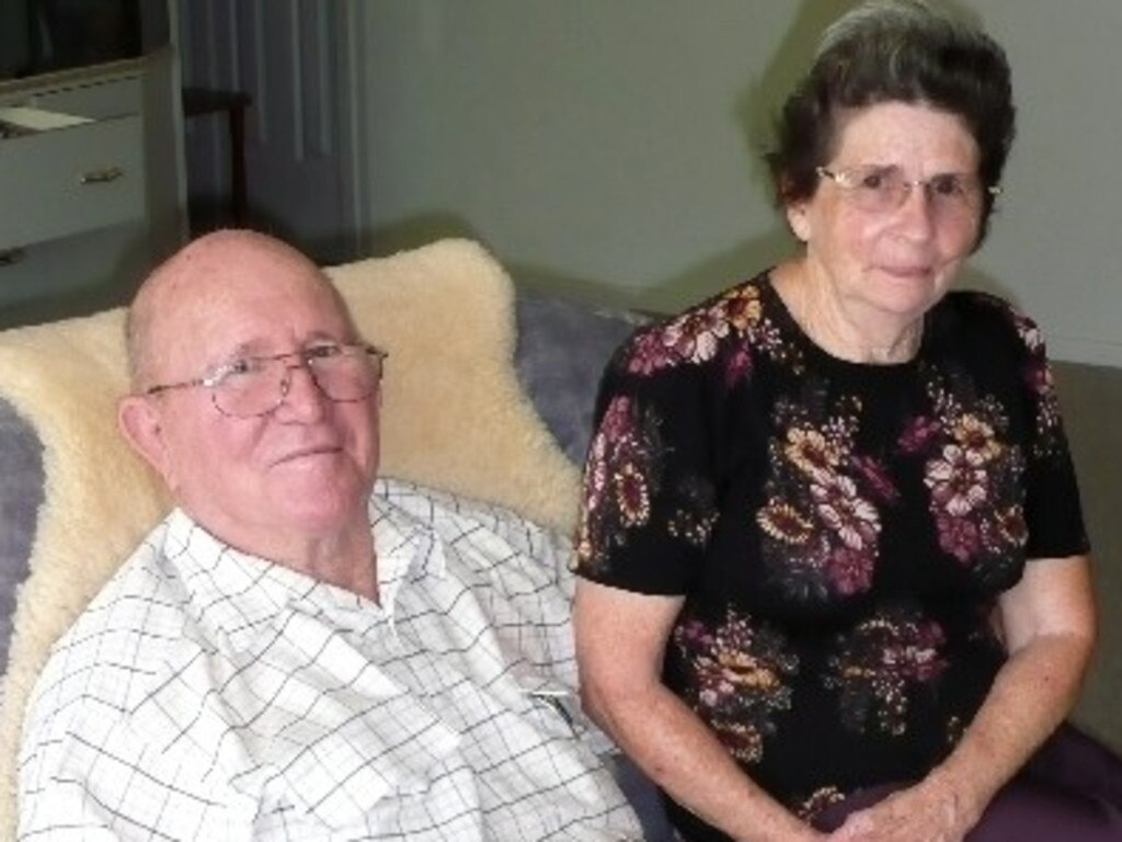 Charles and Grace Lund.