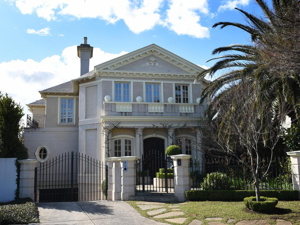 Regis Healthcare founder Bryan Dorman's home in Montrose Court, Toorak. Picture: Supplied