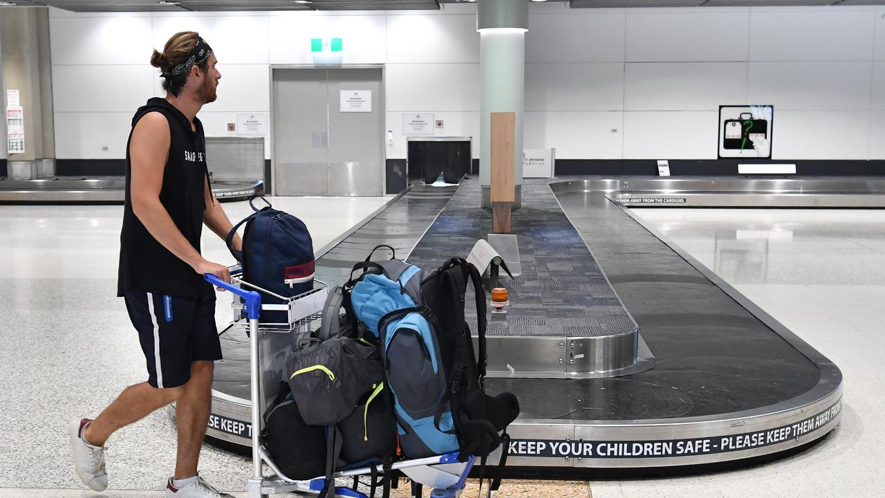 The loans are intended to cover temporary accommodation and daily living expenses until the estimated 19,000 Australians are able to travel home. Picture: AAP/Darren England