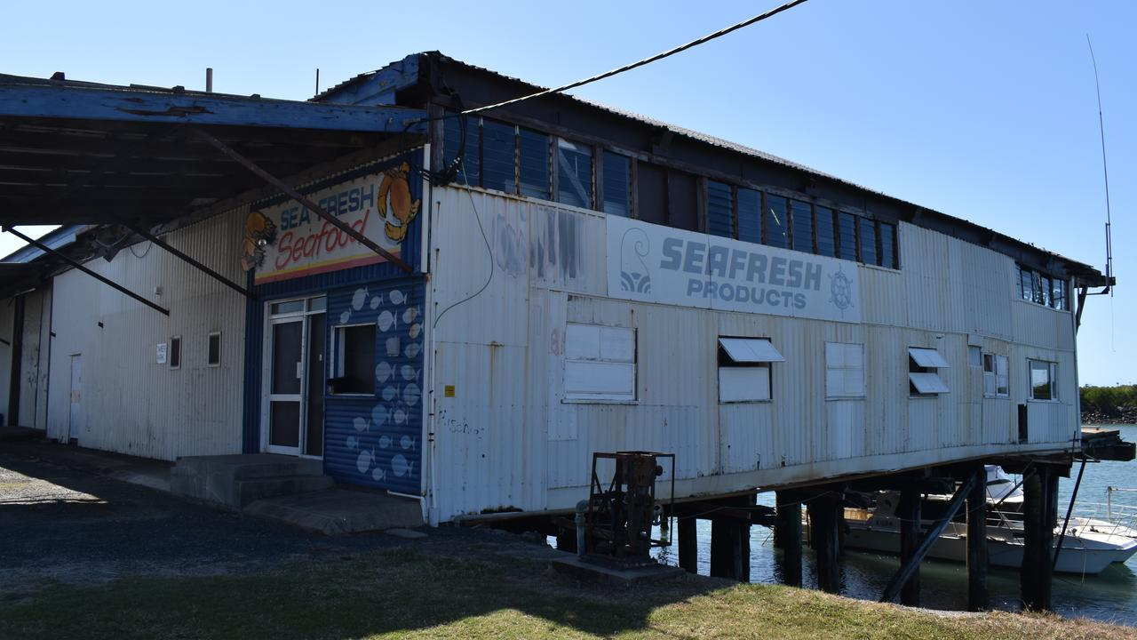 Mackay Regional Council will tear down the Seafresh Shed, at 6 River St, as part of the waterfront Priority Development Area. Picture: Zizi Averill