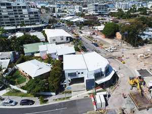 What's behind detours in Mooloolaba backstreets
