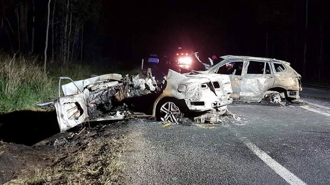 The highway at Tiaro has been the site of several fatal crashes.