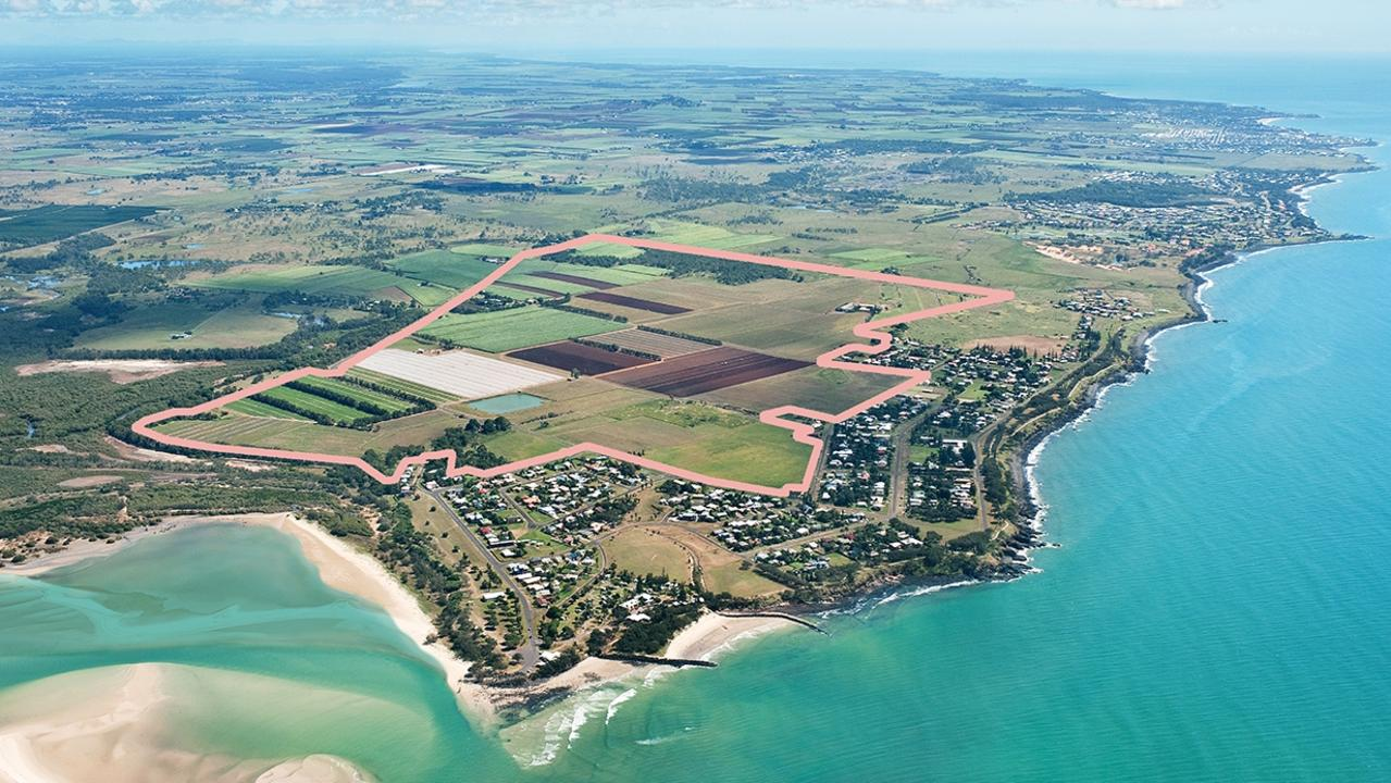 The site of the new South Beach community at Elliott Heads.