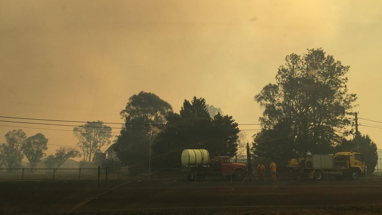 SCORCHED MEMORIES: Photos from the Stanthorpe Fire, almost a year ago to the day.