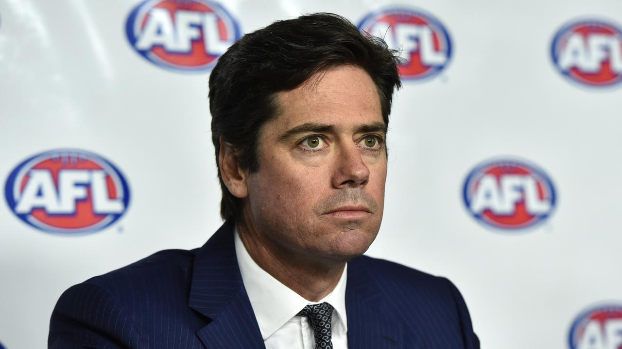 AFL CEO Gillon McLachlan. Picture: AAP Image/Julian Smith