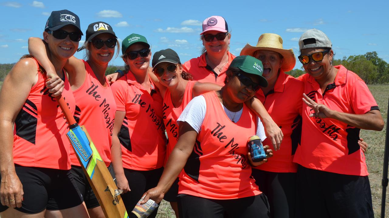 ANOTHER INNINGS: The Missfits at the 36th Annual Mundubbera 7-A-Side Cricket Carnival. Picture: Sam Turner.