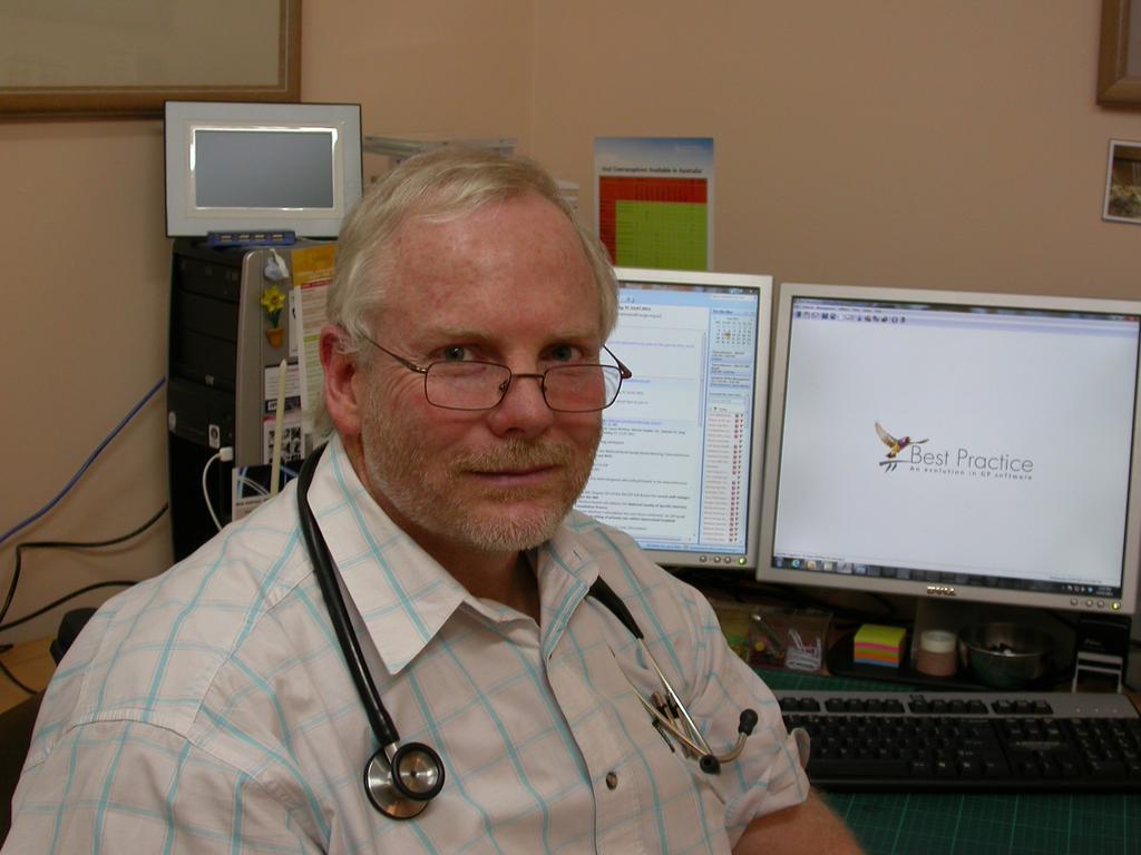 Dr Ewen McPhee.