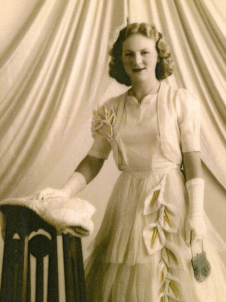 Patricia Ryan making her debut in 1946.