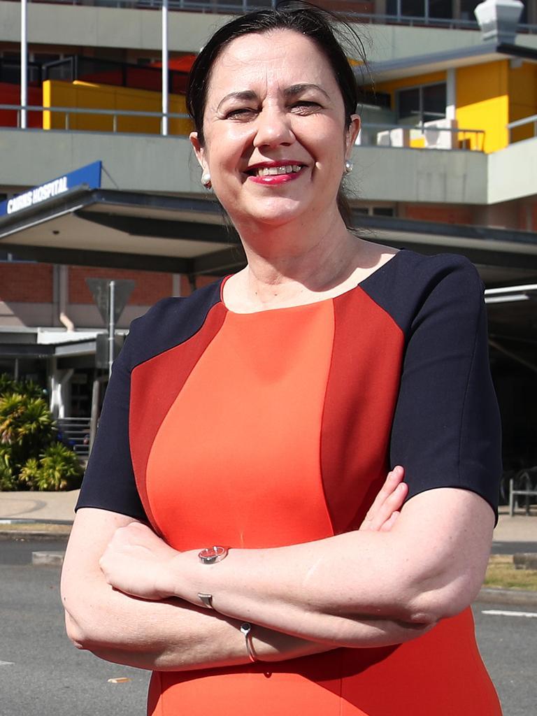 Queensland Premier Annastacia Palaszczuk. PICTURE: BRENDAN RADKE