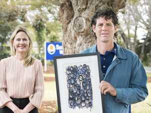 Artist donates to Sunrise Way raffle after finishing program