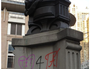 Historic statue defaced in Sydney