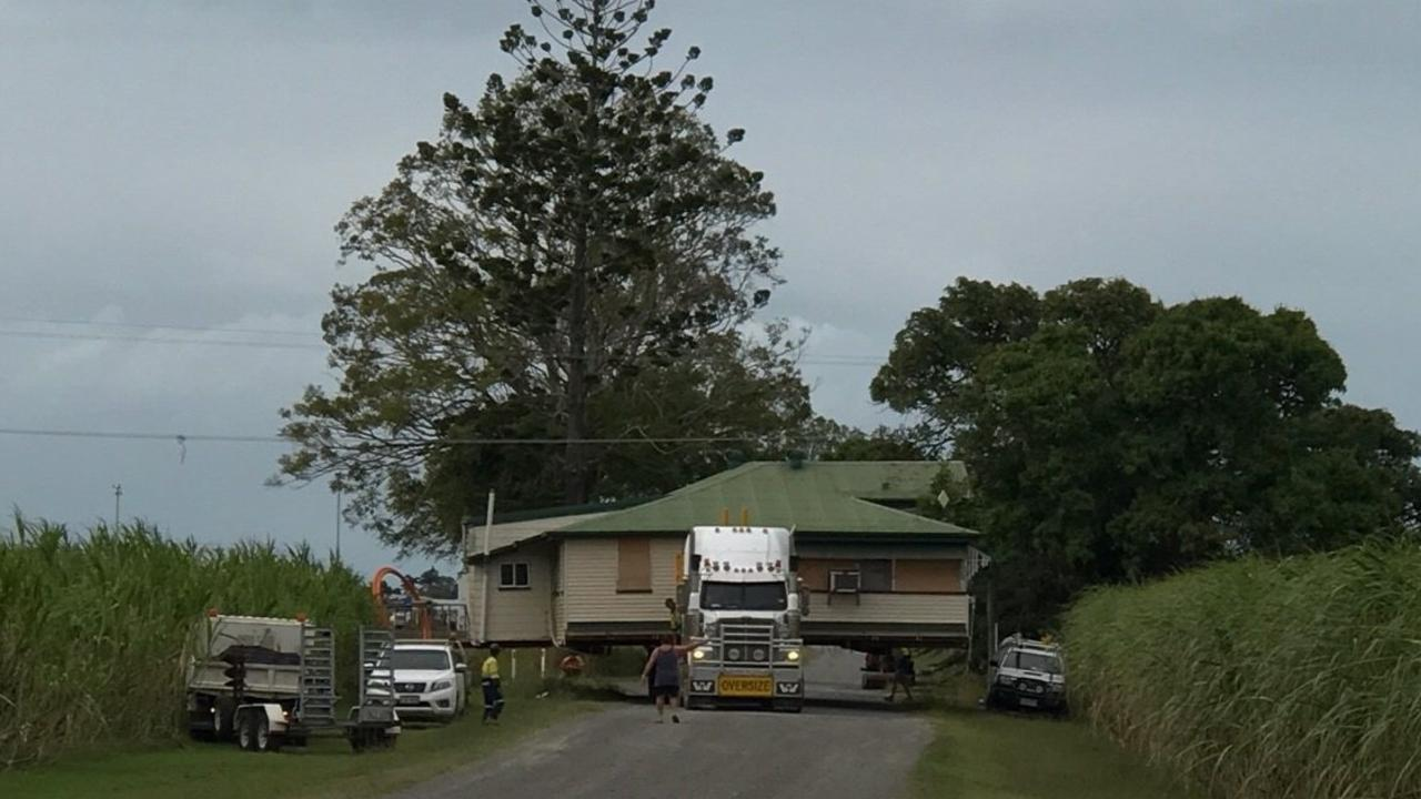 The Clarkson family's home was moved just down the road from their former land, which was forcibly resumed by TMR.