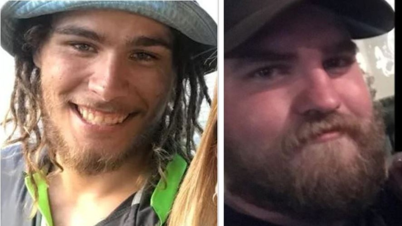 Former Holmview resident Dylan Elliott, 24, and his alleged Logan Village attacker Liam James Godfrey, 25. Pictures: Facebook