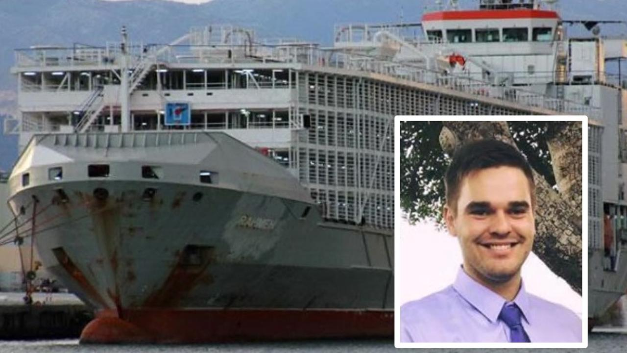 A veterinarian from Queensland was on board the live cattle carrier Gulf Livestock 1 which is missing in the South China Sea.