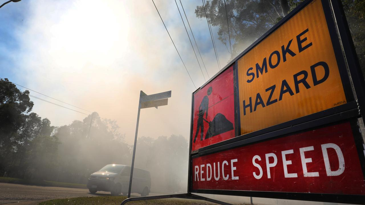 A hazard reduction burn is planned near the Caloundra Airport on Thursday morning. Picture Glenn Hampson