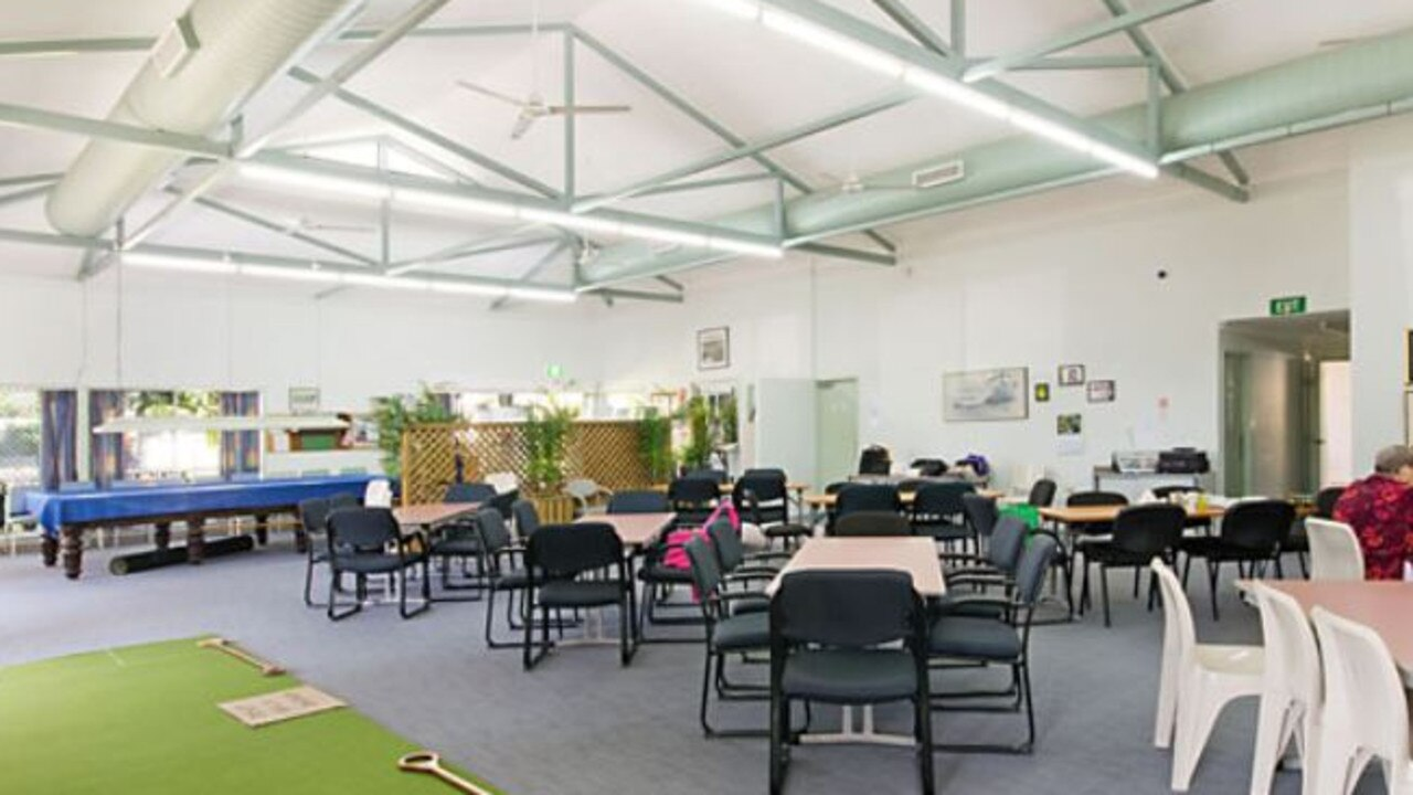 Inside the Bolton Clarke Rowes Bay aged care home in Townsville.