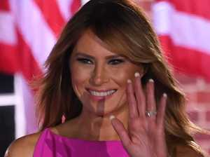 Melania 'folded like a deck of cards'