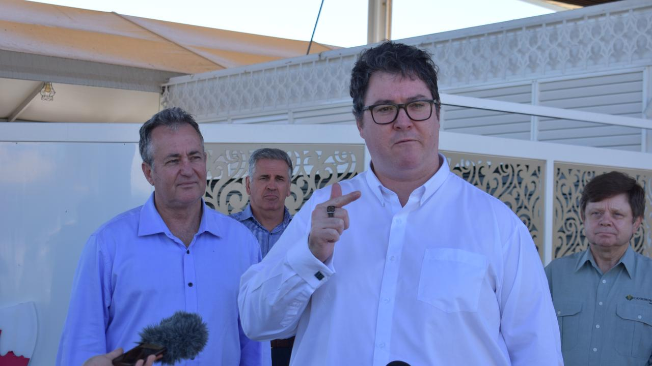 Dawson MP George Christensen said the Federal Government had already provided several assistance packages. Picture: Melanie Whiting