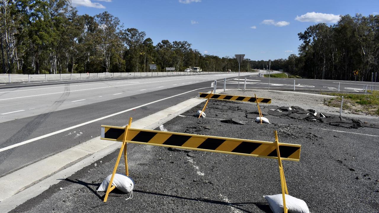 Pacific Highway Ballina to Woolgolga upgrade, August 2020.