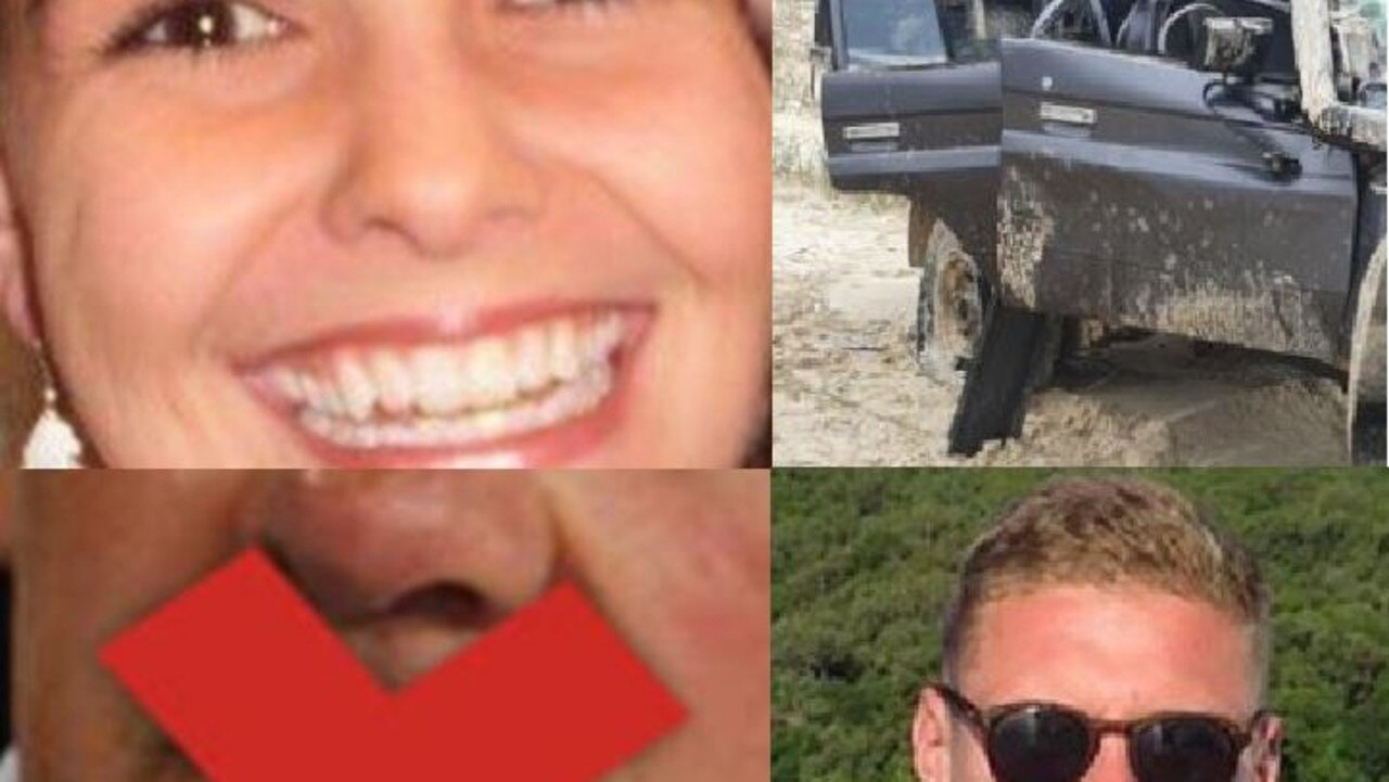 TODAY'S HEADLINES: (Clockwise form top left) Gympie mum Kirra McLoughlin, a crashed car at Teewah Beach, Deklan Gilmartin was one of 9 people who have died in car crashes in the region this year and the OIA's warning to Gympie councillor.