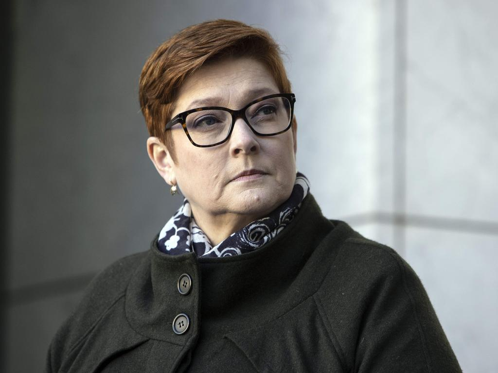 Marise Payne, Minister Foreign Affairs has announced a loan scheme for stranded Aussies. Picture: NCA NewsWire / Gary Ramage