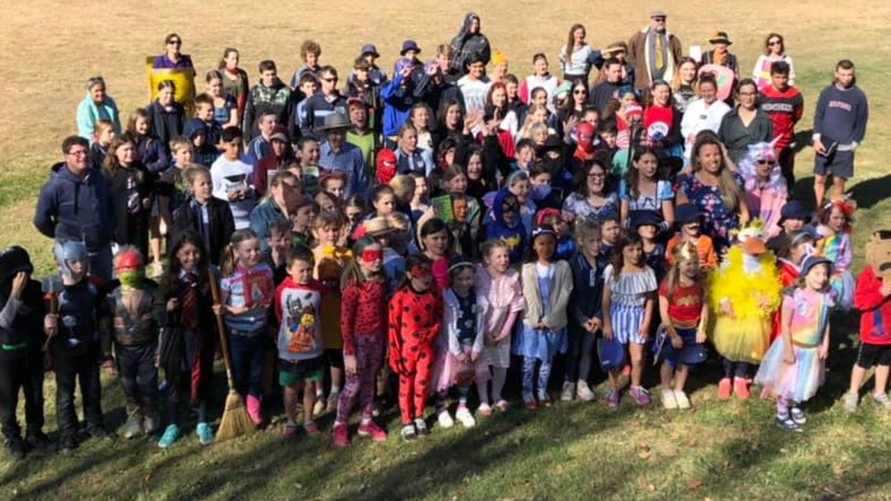 Kilkivan State School Bookweek Parade 2019.