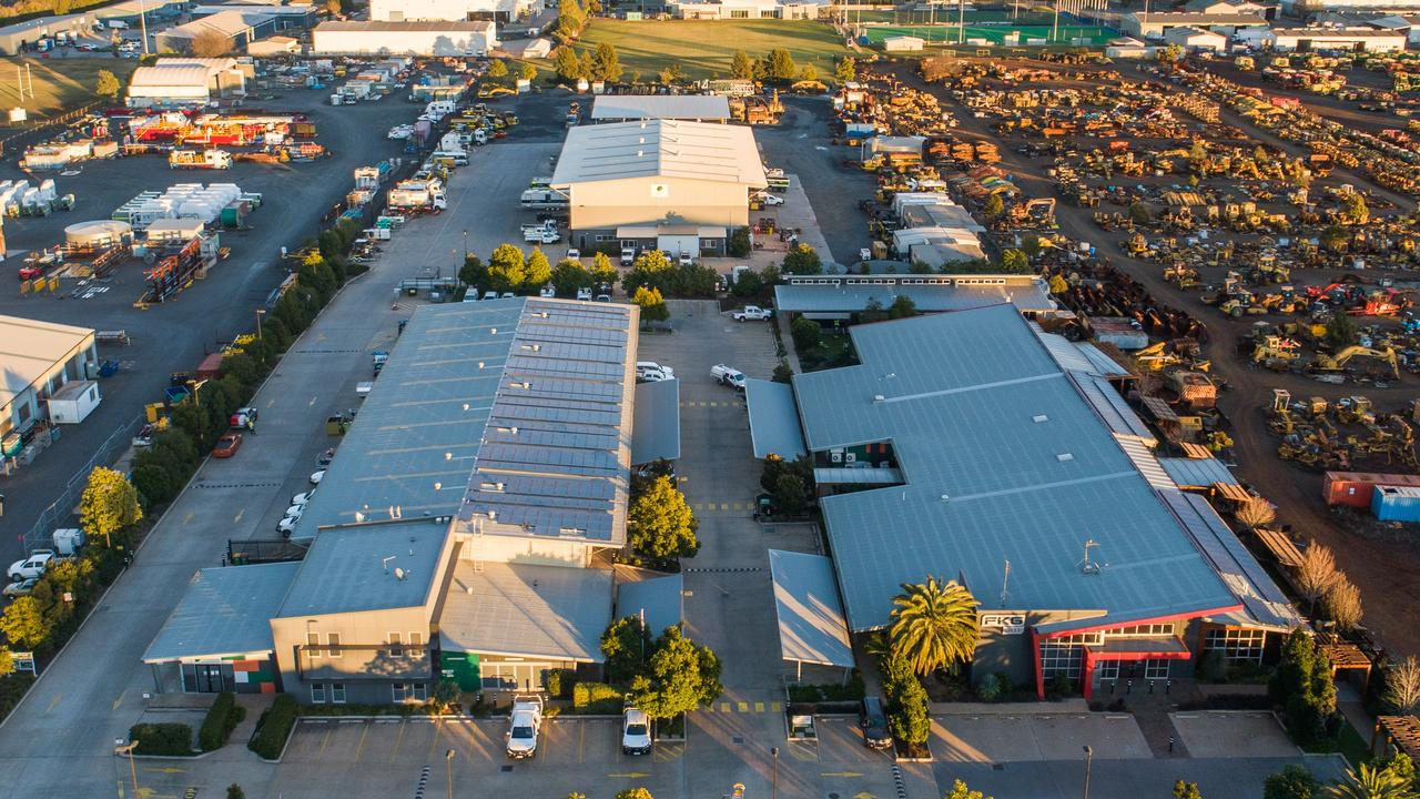 AMAZING SITE: FKG Group's headquarters in Glenvale, Toowoomba is for sale through LJ Hooker.