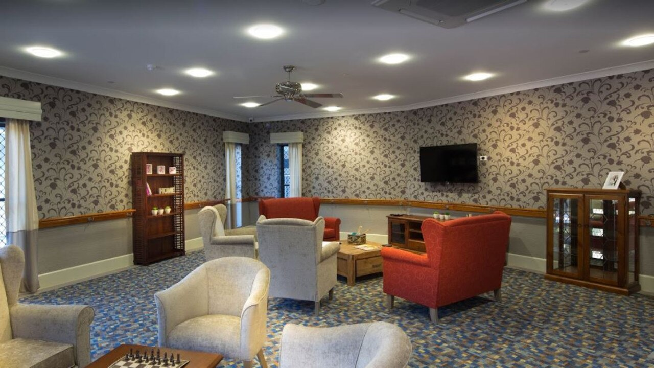 A common room at the Bupa Tugun aged care facility.