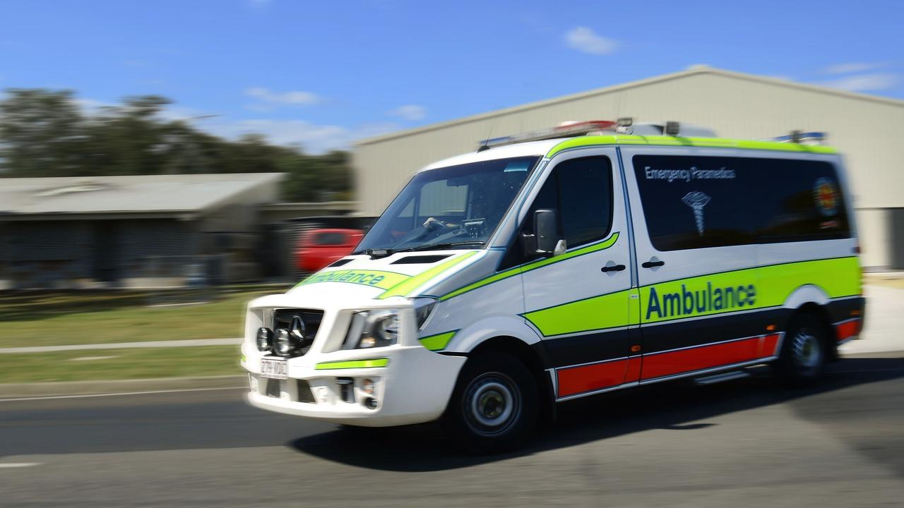 Paramedics treated one woman after she crashed her car on the Coast.