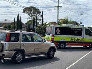 BREAKING: Woman suffers neck injury in Bay crash