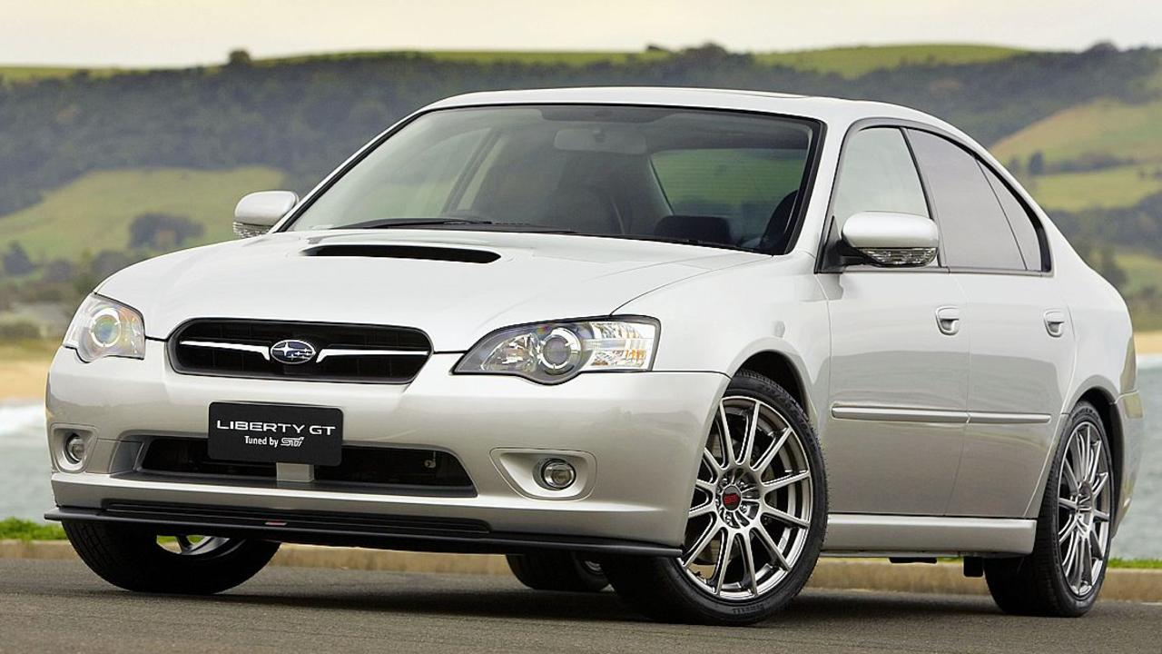 Subaru says the current WRX is roughly the same size as the most revered Liberty models.