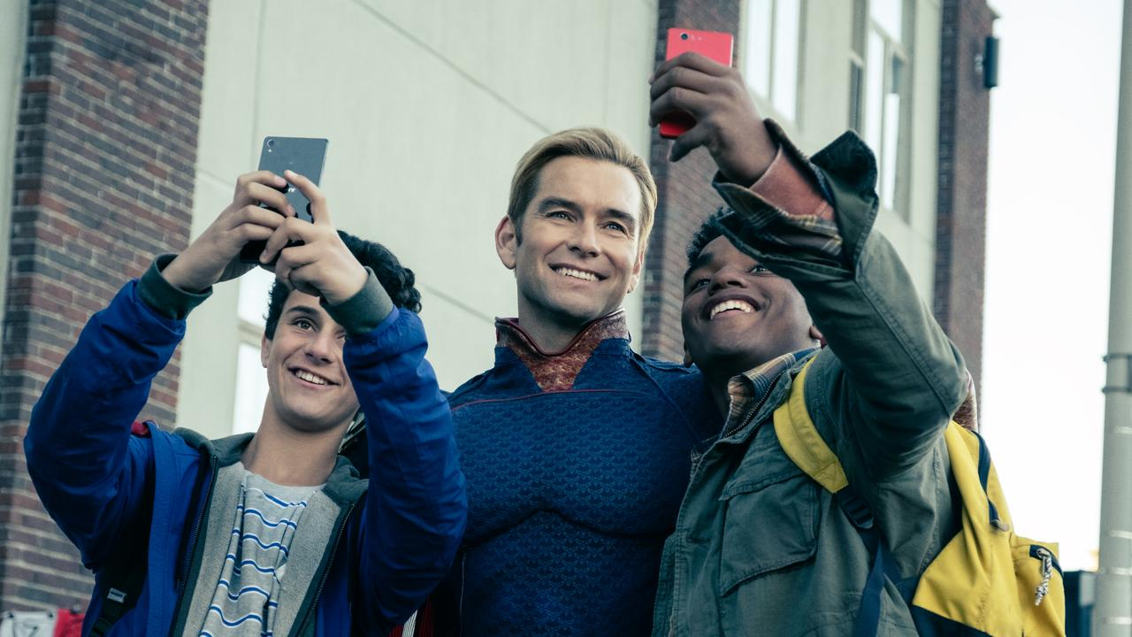 Antony Starr revealed why he looked for inspiration in his adopted US for Homelander in The Boys.