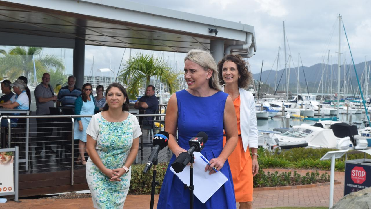 Tourism Minister Kate Jones called on Dawson MP George Christensen to match the State Government's $2 million funding package.