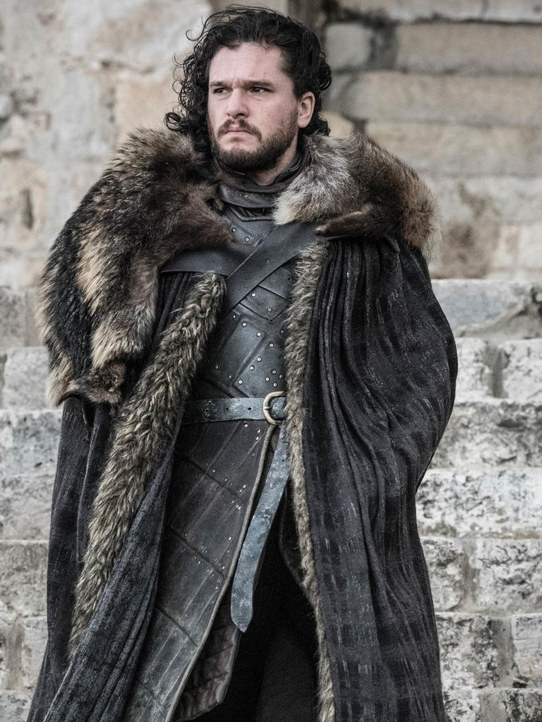Kit Harington as Jon Snow. Picture: Helen Sloan/HBO