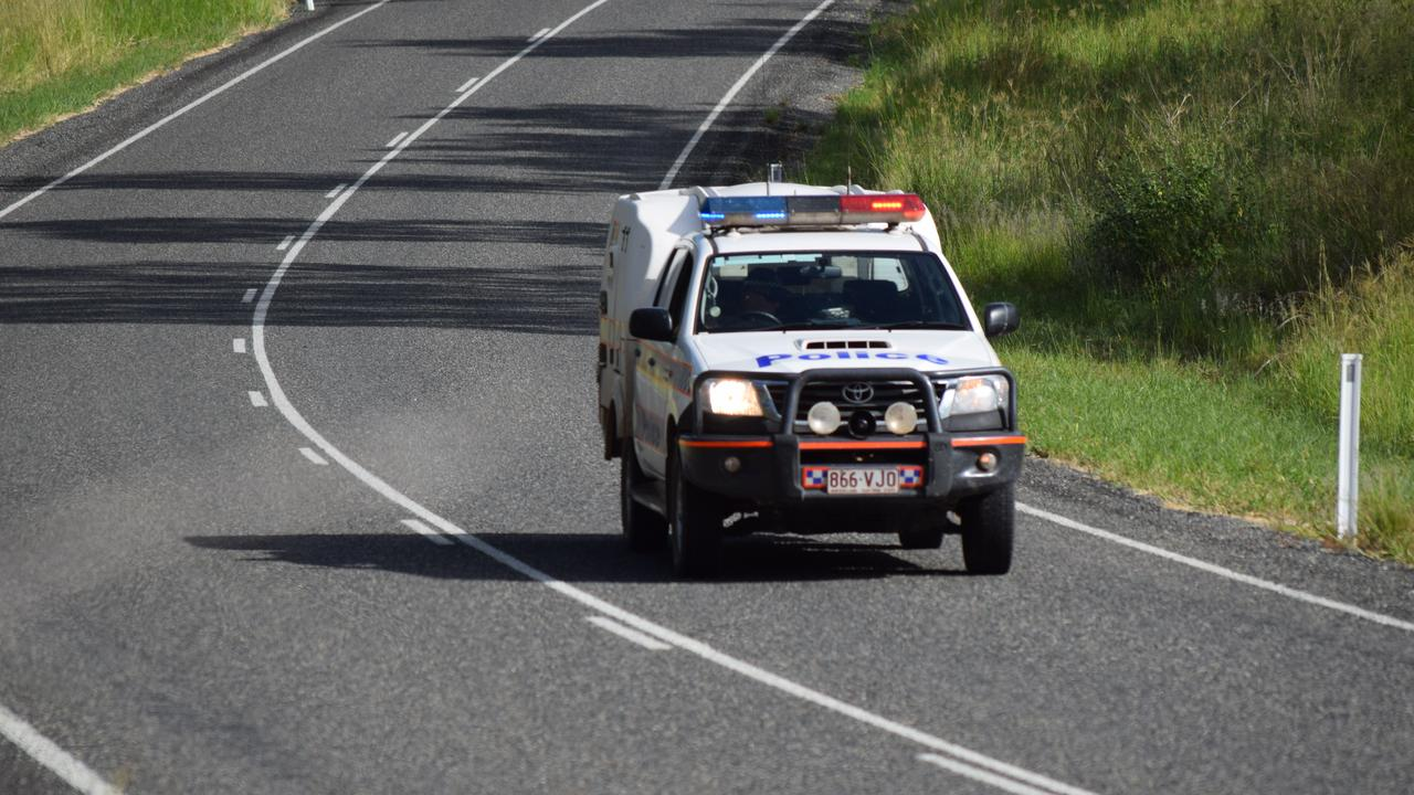 Police busted a 19-year-old driver travelling 50km/h over the speed limit on the Bruce Highway.