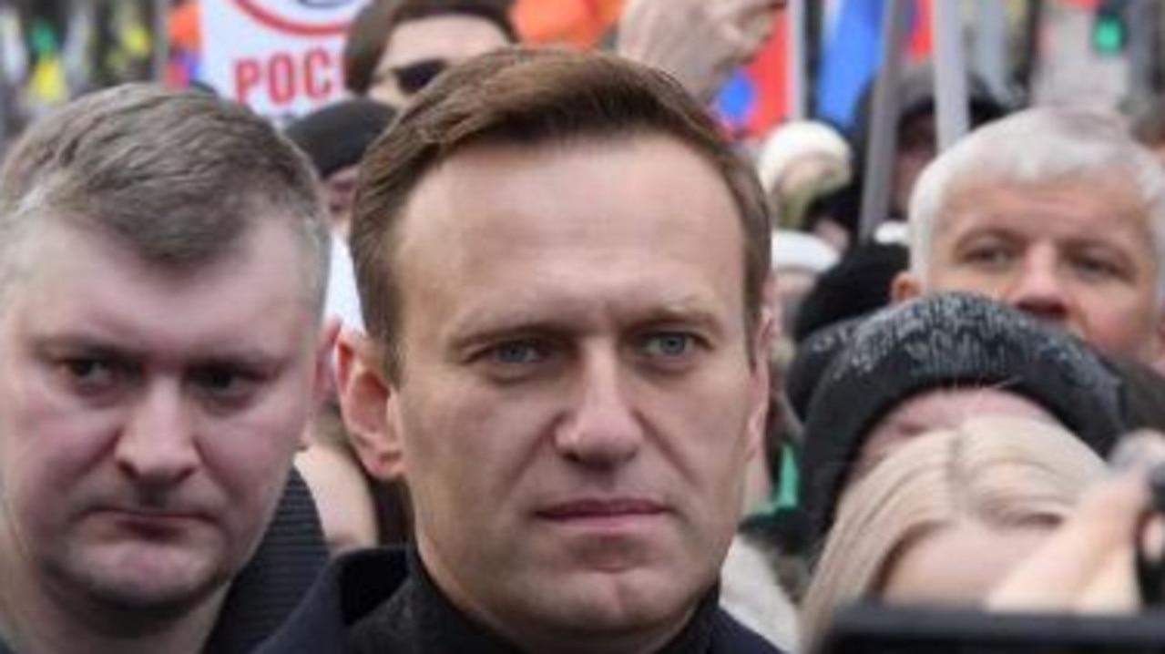 Vladimir Putin opponent Alexei Navalny (pictured). Picture: AFP