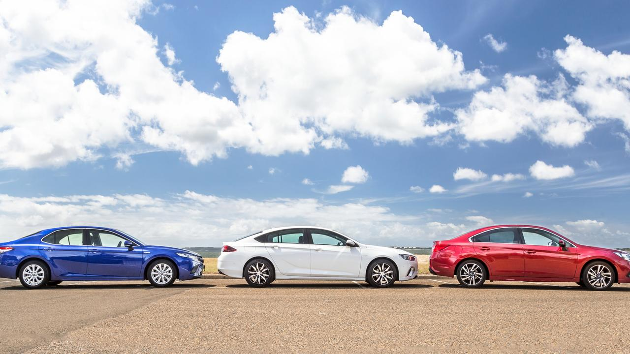 Medium-sized sedans such as the Toyota Camry, Holden Commodore and Liberty aren't popular with new car buyers.